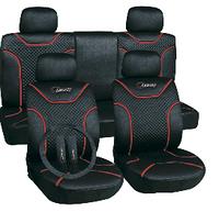 Чехлы авто сидений комплект черные Classic Milex Польша