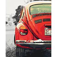 Картина по номерам Ретро машина 40х50 см (KHO3519)