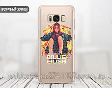 Силиконовый чехол для Samsung A520F Galaxy A5 (2017) Билли Айлиш (Billie Eilish) (28188-3389), фото 2