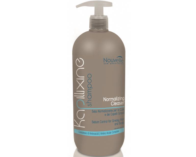 Nouvelle Normalizing Cleanser Shampoo Шампунь для жирных волос с экстрактом крапивы, 1000 мл