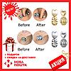 Застежки для сережек MagicBax Earring Lifters (2 пары) | волшебные заглушки приподнимает серьги, фото 5