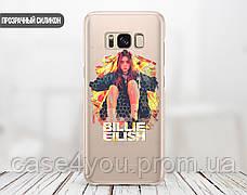 Силиконовый чехол для Samsung A750 Galaxy A7 (2018) Билли Айлиш (Billie Eilish) (28226-3389), фото 2