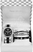 Женские часы - женский подарочный набор GINO MILANO MWF14-004B ( часы+браслеты)
