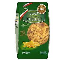 Паста Fusilli Дурум Tesco ( Italian) Durum 100% - 500г