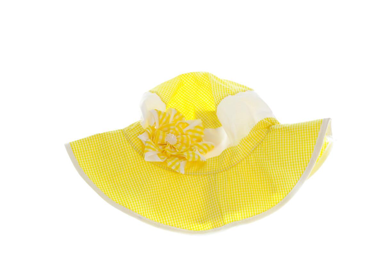 Панамка с Цветком