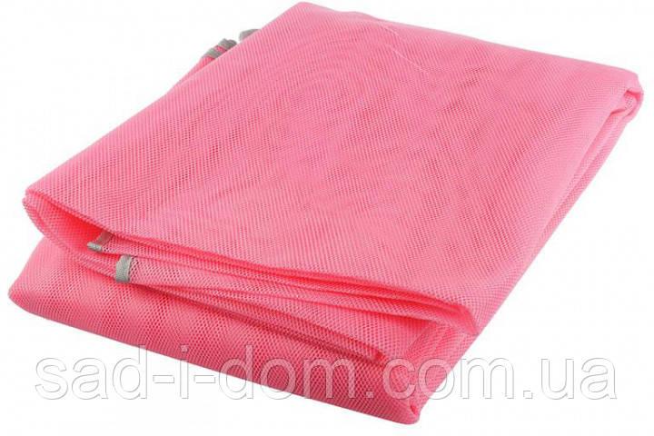 Пляжный коврик подстилка покрывало Антипесок Sand Free Mat 150х200 см Розовый