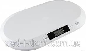 Детские электронные весы для новорожденных Adler AD 8139 White