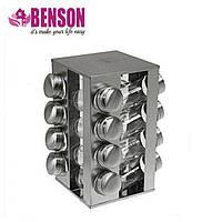 Набор баночек для специй Benson BN-175 из 16 сосудов