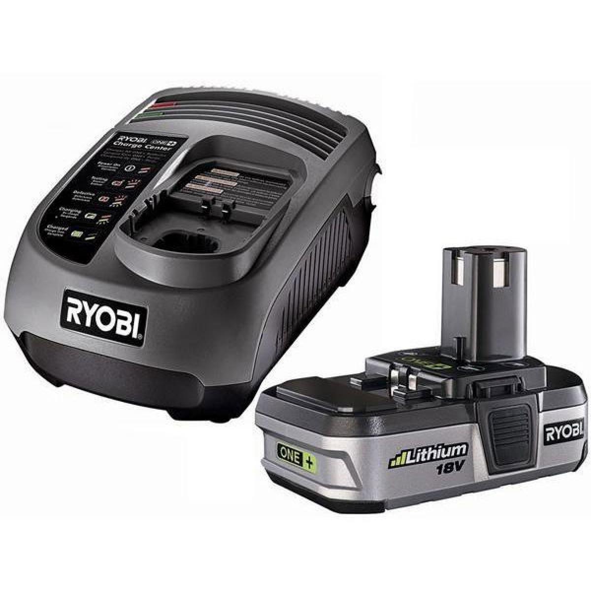 Аккумулятор Li-ion 18В и зарядное устройство RYOBI BLK1820