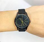 Женские наручные часы в стиле Саlvin Кlein (Кельвин Кляйн), черные с золотом, фото 4