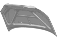 Капот T11-8402010-DY ORG