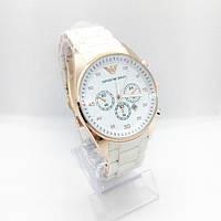 Женские наручные часы Emporio Armani (Эмпорио Армани), белые