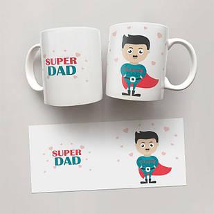 Чашка, Кружка  Super Dad