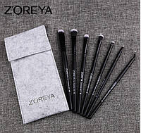 Набор кистей для макияжа глаз 7шт Zoreya light, фото 1