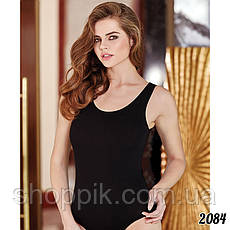 Комбидресс женский Berrak 2083 Турция S, M, L, XL Бежевый, фото 3