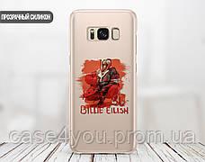 Силиконовый чехол для Samsung A307 Galaxy A30s Билли Айлиш (Billie Eilish) (13021-3390), фото 2