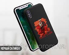 Силиконовый чехол для Xiaomi Mi 8 Билли Айлиш (Billie Eilish) (31055-3390), фото 3