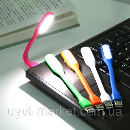 Гибкий светодиодный USB фонарик для ноутбука, Powerbank, телефона - фото 7
