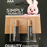 Батарейки дюрасел щелочные R3 (AAА) цена за 1 шт., фото 1