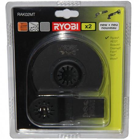 Набор насадок RAK02MT для многофункционального инструмента Ryobi 5132002595