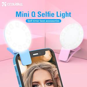 Светодиодная подсветка Coolreall на телефон для селфи