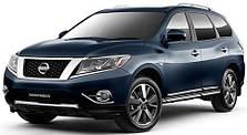 Защита двигателя на Nissan Pathfinder R52 (c 2012--)
