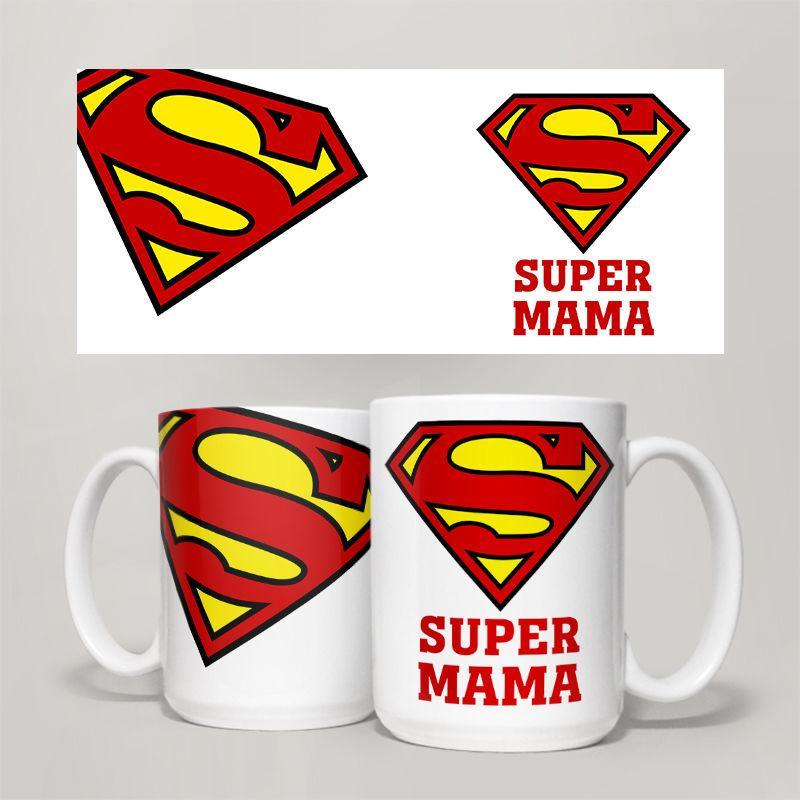 Чашка, Кружка  Super Мама ,  №3
