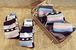 Жіночі шкарпетки вовняні SL всередині з махрою VIP