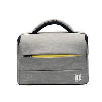 Фото сумка Nikon D противоударная, цвет серый с жёлтым