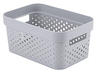 Корзина INFINITY 4,5 л пластик серый M4962700