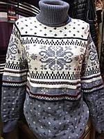 Женский зимний свитер большого размера