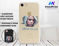Силиконовый чехол для Huawei Honor 7x Билли Айлиш (Billie Eilish) (17150-3392)
