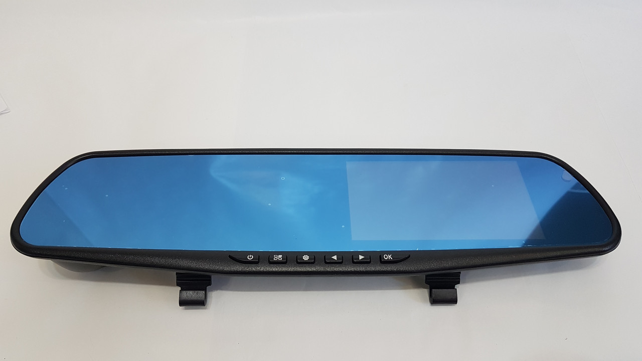 Зеркало видеорегистратор с камерой заднего вида Vehicle Blackbox DVR Full HD1080 ( 2 камеры )