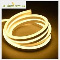 Гирлянда светодиодная LED Лента (Гибкий Неон) желтый 10 метров
