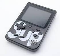 Портативная игровая приставка Game Box Sup dendy 400в1 Супер Марио черная