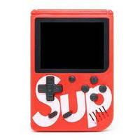 Портативная игровая приставка Game Box Sup dendy 400в1 Супер Марио красная