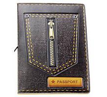 Обложка для паспорта Jeans