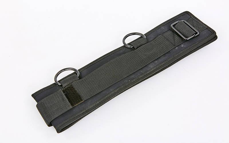 Пояс для кріплення еспандерів FI-6957 (нейлон, р-р 87х10см, чорний)