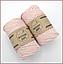 Эко шнур Macrame Rope 4mm, цвет розовая пудра, фото 2