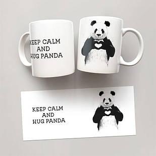 Чашка, Кружка Keep Calm And Hug Panda
