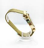 Женские наручные часы Pandora (Пандора), золото с черным циферблатом, фото 3