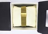 Женские наручные часы Pandora (Пандора), золото с черным циферблатом, фото 6