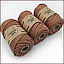 Эко шнур Macrame Rope 4mm, цвет Корица, фото 2