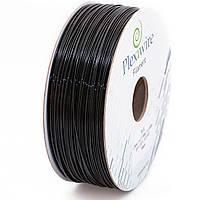 PLA пластик Plexiwire для 3D принтера 1.75мм черный (300м / 0.9кг)