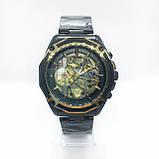 Механические наручные часы Forsining, черные, фото 2