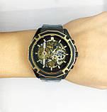 Механические наручные часы Forsining, черные, фото 7