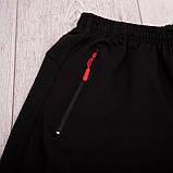 Чоловічі трикотажні шорти Nike, світло-сірого кольорую великого розміру, фото 9