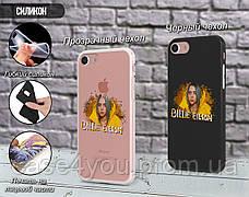 Силиконовый чехол для Apple Iphone Se Билли Айлиш (Billie Eilish) (4006-3393), фото 2