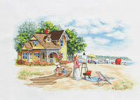 Набор для вышивания крестом Classic Design 4478 Дом на берегу