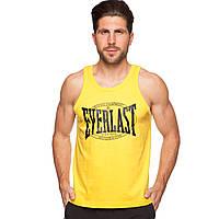 Майка борцовка спортивная мужская ELAST CO-3765-8 размер M-L-46-52 желтый